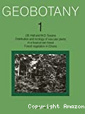 Distribution and ecology of vascular plants in a tropical rain forest